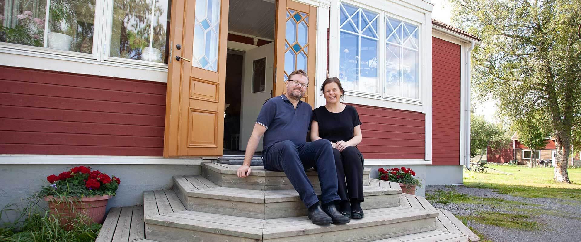 Sörbygården Brunflo, Helen and Richard