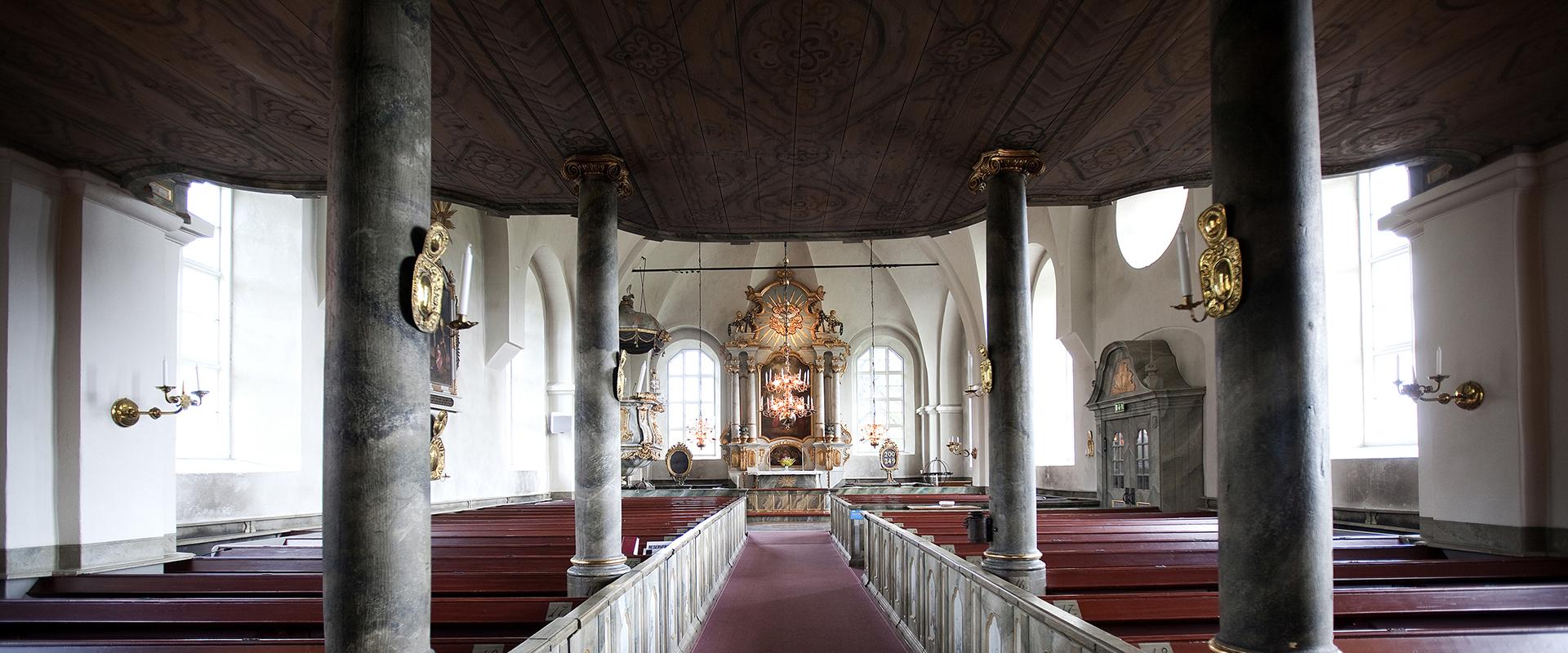 Borgsjö church interior