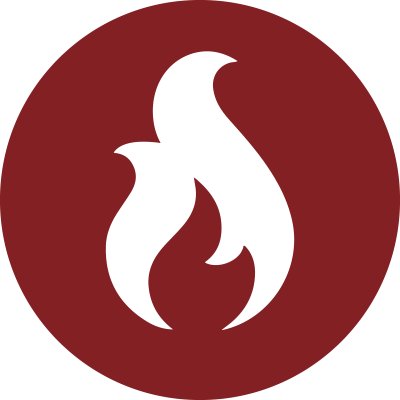 ikon eldning