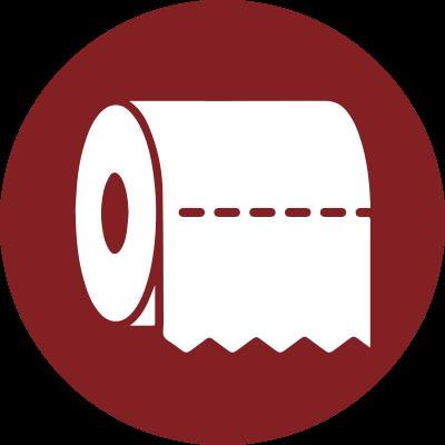 ikon toalettpapper
