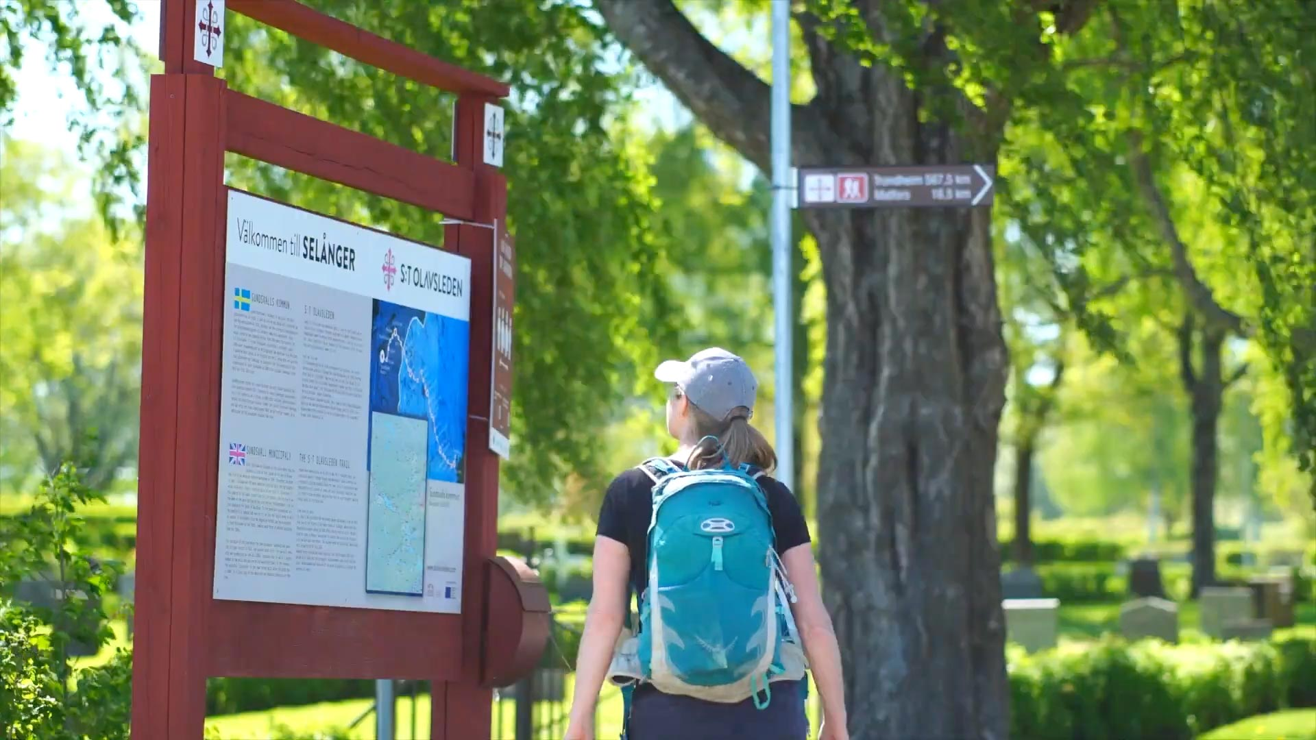 Selånger - where the trail starts